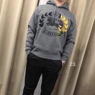 【鐵支精品服飾】戰馬BURBERRY 經典大LOGO刺繡款 大學T/帽T