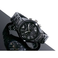 MPORIO ARMANI 陶瓷錶旗艦系列 AR1400 Armani男女手錶 情侶陶瓷腕現貨#6709