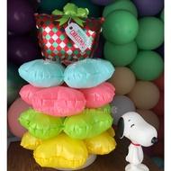 現貨 套裝桌上型氣球柱(NO.005聖誕禮物 聖誕樹 擺飾 桌上擺設 鋁膜氣球 四葉草 開幕 灌水底座 生日 藝術 櫃檯