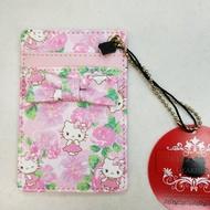 大賀屋 日貨 Hello Kitty 卡套 證件套 悠遊卡套 票卡套 票卡 卡夾 證件 三麗鷗 正版J00010240