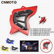 YAMAHA YZF R25 R3 MT03 MT25 Motorcycle accessories Front Sprocket Chain Guard Cover Left Side Engine Protector