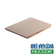 【VitaCraft 唯他鍋】NuCook 台灣製雲杉天然原木砧板 大