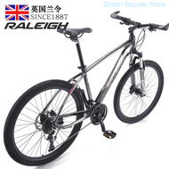 England Order (raleigh) Mountain Unisex Road Primary Juvenile Adult Sports Off-road Racing Bike Oil Aluminum Alloy Travel Car Speed 30 Super Bai Se You Disc Brakes 26-inch