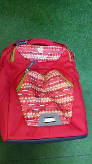Deuter Genius M Cranberry Diamond - Ergonomic School Bag