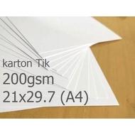 200gsm A4 Manila Carton Paper