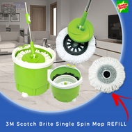 【3M Scotch Brite】Single Spin Mop REFILL