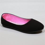 รองเท้า 1338/F1,F1A,F1B รองเท้าคัชชูนักศึกษา รองเท้าคัชชูส้นแบน FAIRY