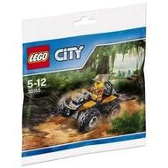 **LEGO**  正版樂高30355  森林越野車polybag 全新未拆