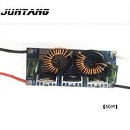 ไดรเวอร์ LED 50W แรงดันไฟฟ้าต่ำ DC-DC อินพุต12-24V เอาต์พุต10 String 5และ1500MA Built-In Bare แผงวงจรจ่ายไฟ