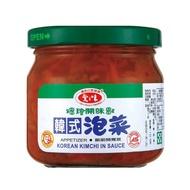 愛之味 韓式泡菜 玻璃罐 190g【康鄰超市】