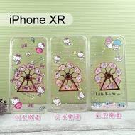 三麗鷗摩天輪指環支架手機殼 iPhone XR (6.1吋) Hello Kitty 雙子星【正版授權】