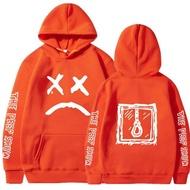 Hoodies Sweatshirt Lil Peep Hoody Love Lil Peep ช้อนส้อมสเตนเลสพิมพ์ผู้ชายเสื้อสวมศีรษะของผู้หญิง Hoodies ฮิปฮอป Streetwear ชายเสื้อ