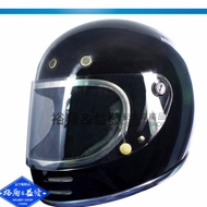 GP5 GP-5 725 素色 亮黑色  經典復古樂高帽 全罩 雙D扣 安全帽《裕翔》