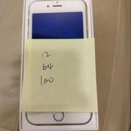 全新電池64g apple iphone664 iphone6 i6 64g金色 4.7吋 二手機