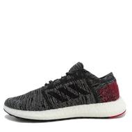 Adidas Pureboost Go [AH2323] 男鞋 運動 休閒 慢跑 輕量 針織 避震 支撐 愛迪達 灰紅