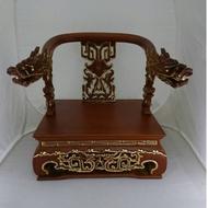 【明祥】古紋屈椅安金-龍手 適用:8寸8 一尺神尊 龍椅 神座 貼座 神墊 神明用 46廠