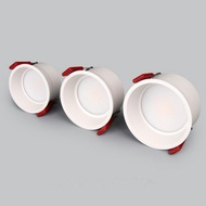 Dimmable LED COB Recessed Downlight 3w 5W 7W 12W 15W 18w Round White LED Ceiling Spot Light