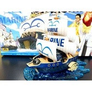【預購】金證 海賊王 偉大的船艦收藏集 07 海軍軍艦 海軍上將【星野日本玩具】