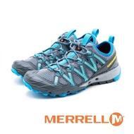 【MERRELL】女 CHOPROCK WATERPRO水陸兩棲鞋(藍)