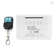 MINI Wifi Smart Light Switch 2 Way Diy Breaker Module eWeLink APP Remote Control, Compatible With Alexa Google Home/Nest