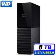 WD My Book 6TB / 8TB USB3.0 3.5吋外接硬碟