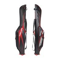 ≌ΙWeihu WEFOX fish pole bag 1.25 m hard shell pole bag big belly super light fishing gear Luya Rod bag