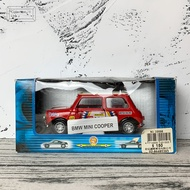 Tins Toys BMW MINI COOPER 汽車模型 #20698【Tonbook蜻蜓書店】