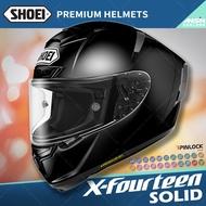 [安信騎士] 日本SHOEI X-Fourteen X14 素色 黑 全罩 頂級 安全帽 內襯全可拆 X-14