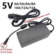 5 V 5โวลต์ Universal AC To DC Led Power Adapter 220V 5 V 5 V 4A 5A 6A 8A 10A 12A 15A Ac/Dc อะแดปเตอร์อะแดปเตอร์ Switching