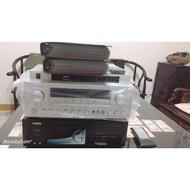 金嗓 卡拉ok 歌唱機 二手 擴大機 無線麥克風接收機 雙大喇叭