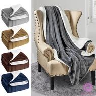 HWT. 雙人加大毯被 素色頂級法蘭絨毛毯 雙層毯 純素色毯 絨毛被 冬季保暖加厚珊瑚絨毯 保暖毯 羊毛羔毯 睡毯 被子