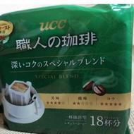 (現貨)UCC職人 濾紙耳掛咖啡