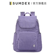 Sumdex|樂.遊 輕旅防盜後背包 NOD-630PH 紫色 官方旗艦店