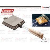 【速捷戶外】美國Coleman 日式三明治烤盤(附收納袋)雙份鬆餅夾烤派夾 CM-9435