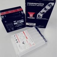 YUASA YTX14-BS  BATTERY 12V 12ah APRILLIA SHIVER 750 FJR1100 BMW GS 1200R ST1100 SHADOW GTR1400 ZX-14 KTM SUPERDUKE 1290