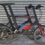 香港行貨 新款 JAVA CL CARBON 451 啤鈴大刀圈 18速 碟剎 小輪徑單車 單車