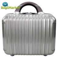 BagsMarket Luggage Bolom Polycarbonate กระเป๋าเดินทางแบบถือ กระเป๋าแฟชั่น กระเป๋าใส่เสื้อผ้า ขนาด 14 นิ้ว BLPC14