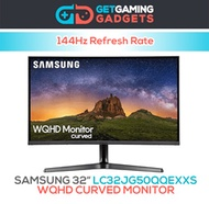 SAMSUNG 32 inch LC32JG50QQEXXS WQHD Curved Monitor with 144Hz Refresh Rate (1 Year Warranty)