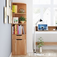 『家樂樂居』小型長40/30寬30高153 138cm臥室方形轉角書架落地多層置物書柜子