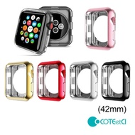 【COTEetCI 哥特斯】Apple Watch 42mm 電鍍邊框保護軟殼-5色(CS7041)