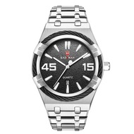 KADEMAN 9078 New Business Men's Large Dial Calendar Quartz Watch Steel Band Men's Watch