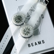 預購)TIMEX × BEAMS 聯名透明經典錶Original Camper / Classics Digital