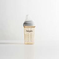 新加坡【hegen】金色奇蹟PPSU多功能方圓型寬口奶瓶 240ml