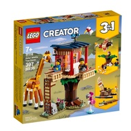 31116【LEGO 樂高積木】Creator 創意大師系列 - 野生動物園樹屋