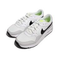 NIKE 男 NIKE AIR MAX SC 氣墊緩震休閒經典復古鞋 白螢光綠 - CW4555105