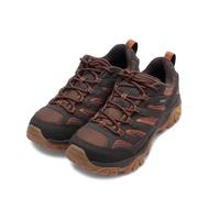 【精選現折$250】MERRELL MOAB 2 GORE-TEX 防水登山鞋 咖啡/橘 ML65461 男鞋 登山鞋/戶外運動鞋
