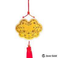 【預購】Jove gold 謝神明金牌-黃金加大版0.1錢