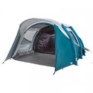 5人 2房1廳加大充氣式帳篷,附打氣筒