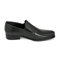 TAYWIN(แท้) รองเท้าคัชชูหนังแท้ ผู้ชาย FB-09 หนังนิ่มสีดำ