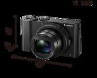 ★杰米家電☆Panasonic 國際牌 LUMIX 數位相機 4K 2010 萬畫素 MOS 感光 DMC-LX10-K (全黑)
